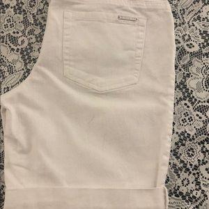 Micheal Kors Jean white shorts